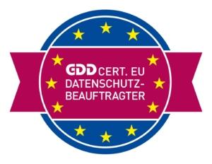 Datenschutzbeauftragter GDD Cert.EU