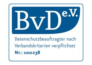 Datenschutzbeauftragter nach BvD-Verbandskriterien verpflichtet